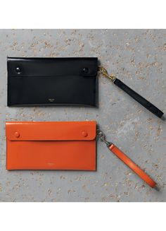 Céline Spring 2015 - Travel Clutch in Spazzolato Leather