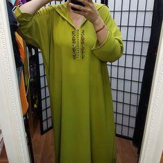 Moroccan Caftan, Moroccan Style, Kimono Dress, I Dress, Caftan Gallery, Modele Hijab, Fashion Design Sketches, Mode Style, Hijab Fashion