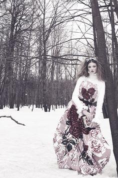Lindsey Wixson by Emma Summerton | Vogue Japan, December 2013.