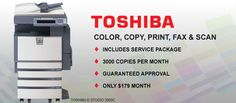 Toshiba Multifunctional Printers | Copiers | Copy Machines Miami