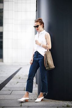 Get this look: http://lb.nu/look/8323637  More looks by Valeriya Sytnik: http://lb.nu/user/5362196-Valeriya-S  Items in this look:  Zara Shoes, Zara Bag, Stradivarius Shirt, Zero Uv Sunglasses