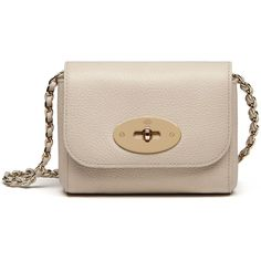 Mulberry Mini Lily (609,305 KRW) ❤ liked on Polyvore featuring bags, handbags, shoulder bags, buttercream, mulberry shoulder bag, mini shoulder bag, woven leather handbag, lily handbags and mulberry purse