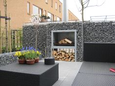 old rusty fireplace ideas for garden - Google Search
