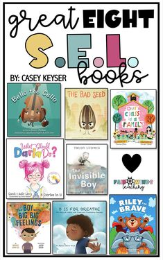 Reading is an easy way to incorporate Social Emotional Learning into your classroom. Check out our friend @FairWindsTeaching's favorite SEL books here. Science Projects For Kids, Science For Kids, Social Emotional Learning, Social Skills, Best Books To Read, Good Books, Charades For Kids, The Invisible Boy, The Bad Seed
