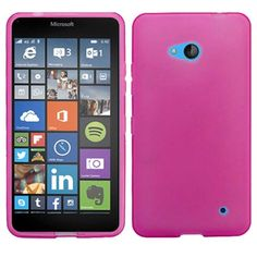 Insten Frosted TPU Rubber Candy Skin Phone Case Cover For Microsoft Lumia 640