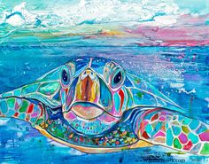"""Hello"" - Jen Callahan Artwork - Coastal Colors™"