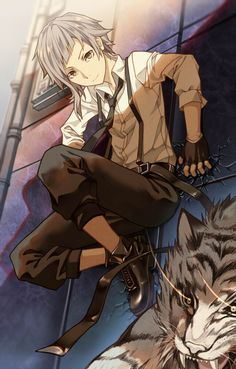 Bungou Stray Dogs / Nakajima Atsushia This anime is hilarious and great!