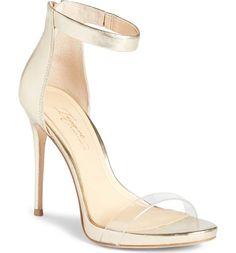 239291dba03c9 Imagine Vince Camuto Women Diva Sandal  Size 10M  Gold