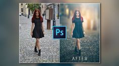 Photoshop Tutorial: HOW to CHANGE photo BACKGROUND  ✔ - YouTube