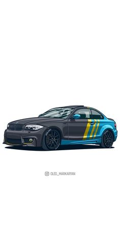 New Car Wallpaper, Car Painting, Sketch Painting, Mini Cooper Classic, Car Silhouette, 135i, Bmw Wallpapers, Best Luxury Cars, Amazing Cars