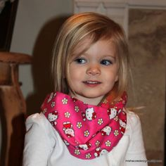 Infant Toddler Infinity Scarf Hello Kitty Hot by mishacoledesigns, $6.50