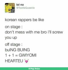 Perfect example of Jooheon and I.M
