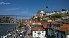 Vila Nova de Gaia e o Rio Douro. Portugal. Foto : Cida Werneck.  Convido a visitar : https://www.facebook.com/meuolharPortugal/?fref=ts
