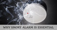 Fire-Proof Your Home By Installing A Smoke Alarm.  #Smoke #Alarm #Australia #Fire #Accidents #Safe