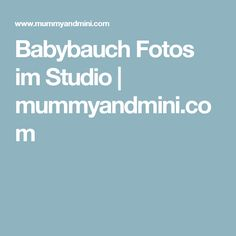 Babybauch Fotos im Studio   mummyandmini.com