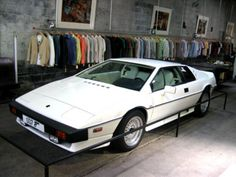 Lotus Esprit from For Your Eyes Only.  This is the car that turned into a mini-submarine.