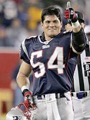 Bruschi inspiring on, off field with stroke of courage Nfl New England Patriots, Patriots Fans, Football Fans, Tedy Bruschi, Go Pats, Boston Sports, Sports Figures, Champion, Tedy Bear