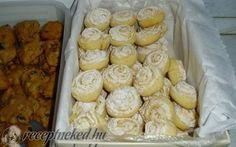 Sweet Cookies, Cake Cookies, Sweet Treats, Hungarian Recipes, Pretzel Bites, Nutella, Biscuits, Muffin, Food And Drink