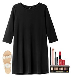 """""""Contest Results! Read Below!"""" by violin1234 ❤ liked on Polyvore featuring Monki, Jack Rogers, Urban Decay, Bobbi Brown Cosmetics, Trish McEvoy, NARS Cosmetics, NYX and DRESSingdowndresses"""
