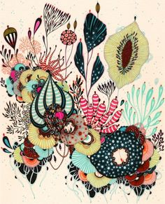 pen & ink by Yellena James