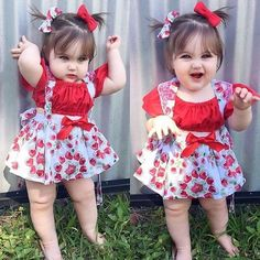 Share some love for for this adorable baby girl . So Cute Baby, Cute Little Baby Girl, Cute Baby Girl Pictures, Cute Babies, Baby Girls, Baby Girl Dress Patterns, Baby Girl Dresses, Baby Dress, Baby Girl Fashion