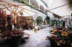 Innenhof in der Salzburger Altstadt