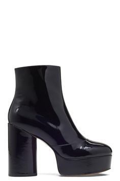 b455f502c491  marcjacobs  shoes   Black Platform Boots