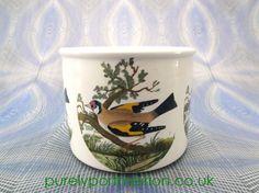 Portmeirion Birds Of Britain Vintage Planter No4 Goldfinch