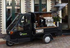 Paletti Piaggio APE Coffee Concept - www.italianentertainment.nl