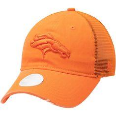 separation shoes 067bf 7ebaa Women s Denver Broncos New Era Orange Tonal Washed Trucker 9TWENTY  Adjustable Hat, Your Price   23.99