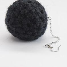 Knitted Earring