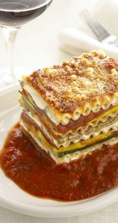 Vegetarian Lasagna With Goat Cheese Recipe