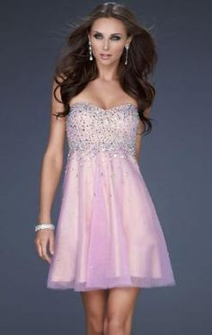 Beautiful Short Champagne Tailor Made Cocktail Prom Dress (LFNAF0059) http://www.marieprom.co.uk/formal-dresses-uk