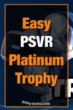 The PSVR is overlooked by a lot of trophy hunters for some reason. There are quite a few easy PSVR platinums. Here is a list PSVR games with easy trophies Ps4, Playstation, Surgeon Simulator, Trophy Hunting, Vr Games, Immersive Experience, Best Games, Really Funny, Virtual Reality