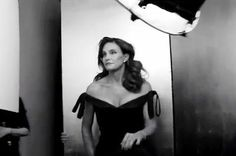 Bruce jenner is stunning in vanity fair
