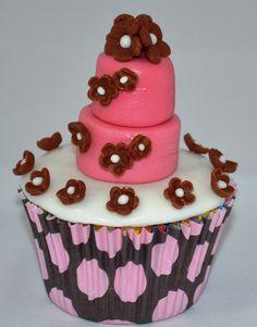 Passo a Passo Cupcake Mini Bolos Por Elisabeth Teodoro