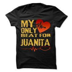 Click here: https://www.sunfrog.com/Holidays/My-Heart-Only-Beat-For-JUANITA-Cool-Shirt-.html?s=yue73ss8?7833 My Heart Only Beat For JUANITA Cool Shirt !!!