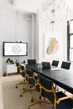 """Most of the time, people don't like to work within one type of space,"" Santos said. ""Sometimes you like to work alone, sometimes you like to work in small groups, and sometimes you're going to have a meeting with 10 to 12 people. You want to make sure you outfit an office with a variety of environments."""