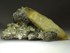 Calcite - Sweetwater Mine, Ellington, Viburnum trend District, Reynolds Co., Missouri, USA