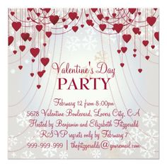 ValentineS Day Party Invitations Valentines Day Cookie Swap Party