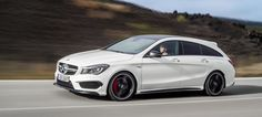 Yes, Yes, Yes: The Mercedes-Benz CLA45 AMG Wagon Is Here