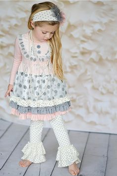 2015 Giggle Moon Graced Tutu Dress & Legging Months to 8 Years<BR>Now in Stock Cute Baby Girl Outfits, Toddler Girl Outfits, Kids Outfits, Dresses With Leggings, Baby Boutique Clothing, Kids Boutique, Little Fashionista, Young Fashion, Kids Fashion