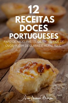 Chef Recipes, Wine Recipes, Dessert Recipes, Portuguese Desserts, Portuguese Recipes, Coffee Break, Deserts, Food And Drink, Yummy Food