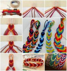 16 pretty bracelet tutorials designs patterns of friendship bracelets diy tutorials to do at sliding knot bracelet diy crafts unleashed Diy Friendship Bracelets Tutorial, Diy Friendship Bracelets Patterns, Diy Bracelets Easy, Bracelet Tutorial, Yarn Bracelets, Ankle Bracelets, Diy Bracelets Step By Step, Macrame Tutorial, Bracelet Fil