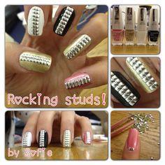 Rocking nail art