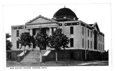 First Baptist Church, Cushing, Oklahoma