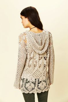 Trendy crochet tunic PATTERN Free People tunic door CONCEPTcreative helaas wel een kooppatroon