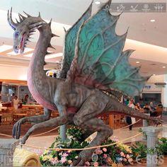 Dragon Show Prismatic Dragon Robot