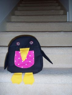 Penguin Backpack from the Little Things to Sew book.