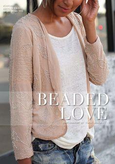 Beaded Love  #Graphic #Shirts & Blouses #T-Shirts #Denim #Shorts by maureen